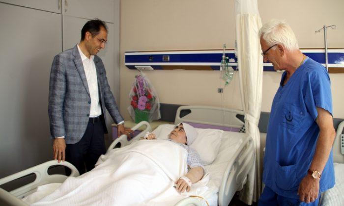 Sinop'ta başarılı rahim kanseri ameliyatı