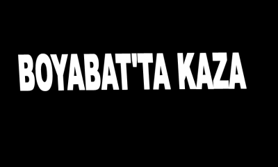 Boyabat'ta Kaza