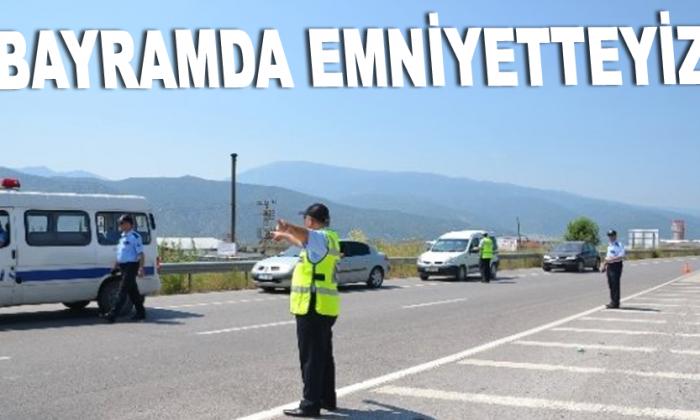 SİNOP'TA BAYRAM TEDBİRLERİ