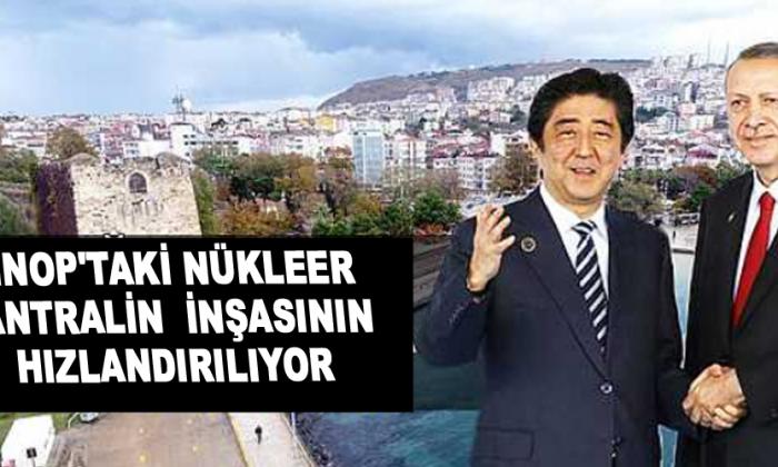 Erdoğan, Japon Başbakanla Sinop nükleerini konuştu