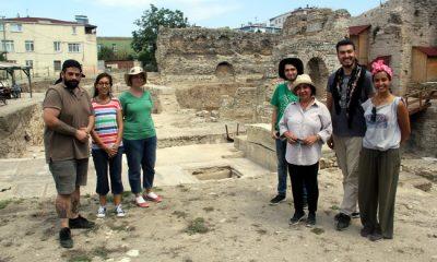Roma dönemi eğlence merkezi bulundu
