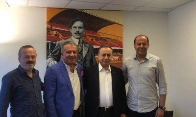 Ayancıklı Gazeteci Yıldız'dan Galatasaray Spor Kulübüne ziyaret