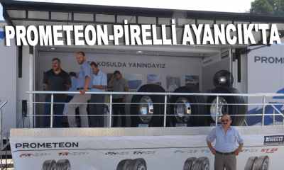 Prometeon-Pirelli Ayancık'ta