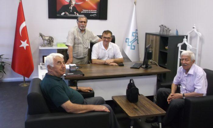 SGC'den Tosun'a Hayırlı Olsun Ziyareti