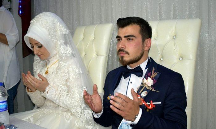 Sinoplu Gazi görkemli bir düğün merasimi ile dünya evine girdi.