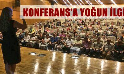 Konferansa Vatandaşlar Yoğun İlgi Gösterdi