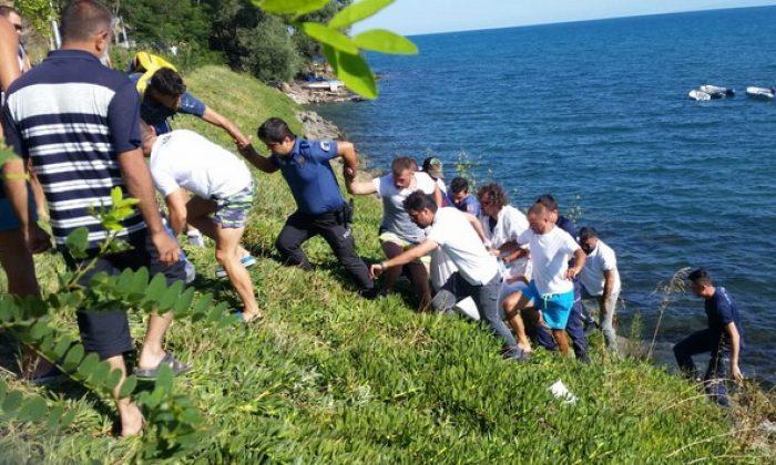 Sinop'ta boğulma: 1 ölü