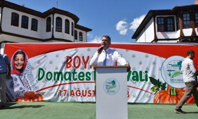 Boyabat'ta Domates Festivali