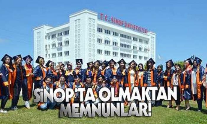 Üniversite öğrencileri Sinop'tan memnun