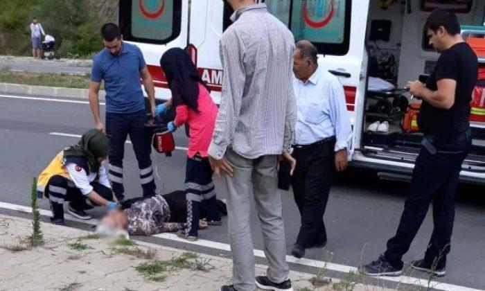 Erfelek'te  Trafik Kazası: 1 Ölü