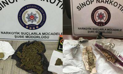 Sinop'ta Uyuşturucu Operasyonu