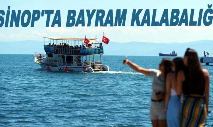 Sinop'ta bayram kalabalığı