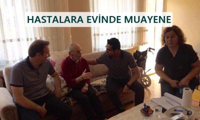 Ayancık Köylerindeki Hastalar Evlerinde Ziyaret Edildi