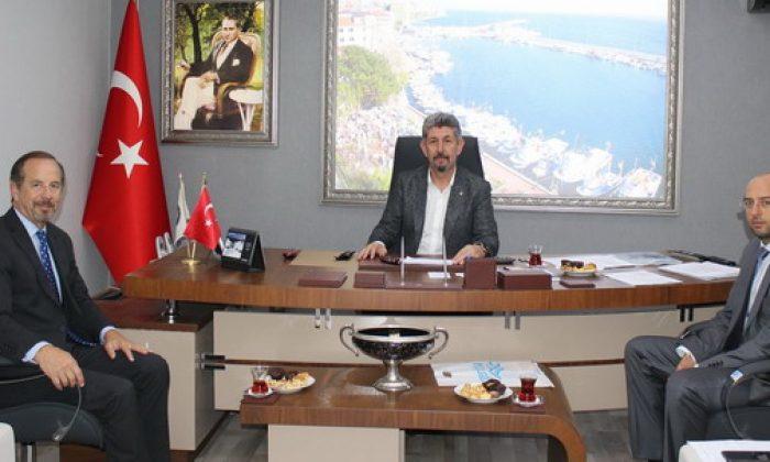 Arjantin Başkonsolosu Sinop TSO'u ziyaret etti