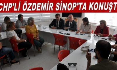 CHP'li Özdemir Sinop'ta konuştu
