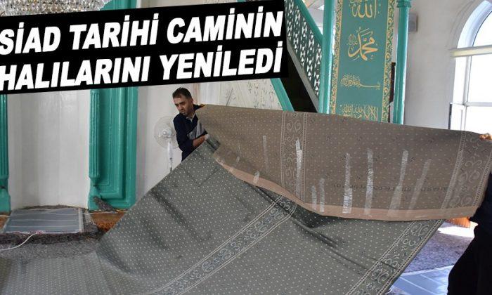 Hacı Ömer Cami'nin Halıları Yenilendi