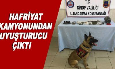 Sinop'ta Uyuşturucu Madde Ele Geçirildi