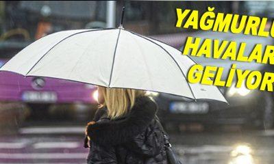 Yağmurlu Havalar Geliyor