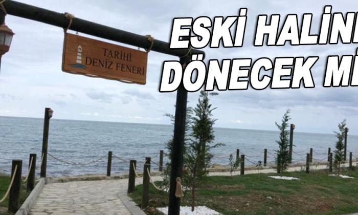 Tarihi Deniz Feneri Eski Haline Dönüyor!