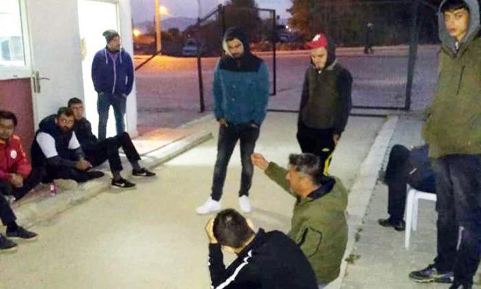 Sinopspor Taraftarına Tekme Tokat Gözaltı