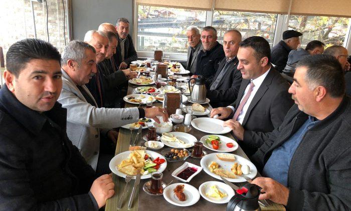 """""""CHP'li Barış Karadeniz Muhtarlarla Buluştu"""""""