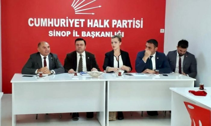 CHP Sinop'ta adayları Tarhan'la belirleyecek
