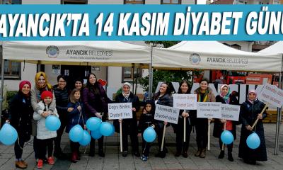 Ayancık'ta 14 Kasım Diyabet Günü