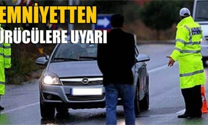 Sinop Emniyetinden Sürücülere Uyarı