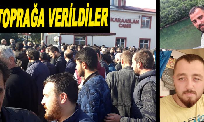 Sinop'taki kazada ölen iki kişi toprağa verildi