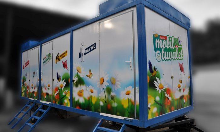 Boyabat Belediyesi vatandaşlar için mobil tuvalet getiriyor