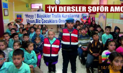 'İYİ DERSLER ŞOFÖR AMCA'