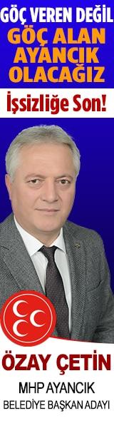 Ayancık MHP Belediye Başkan Adayı Özay Çetin