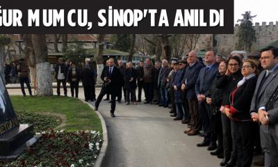 Uğur Mumcu, Sinop'ta anıldı