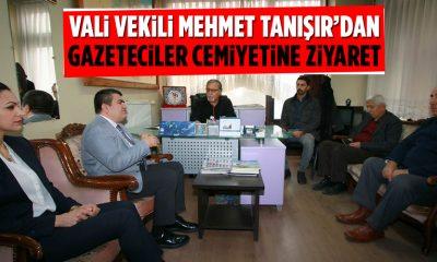 Mehmet Tanışır'dan Gazeteciler Cemiyetine Ziyaret