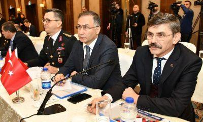 Sinop Valisi, Seçim Bölge Güvenlik Toplantısında