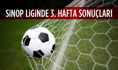 Sinop Büyükler Ligi 3. Hafta Sonuçları
