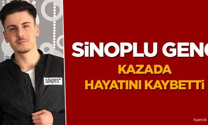Sinoplu Genç Kazada Hayatını Kaybetti