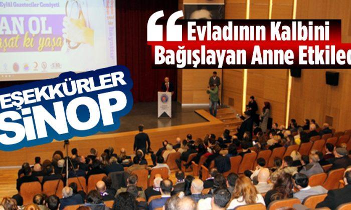 Sinop'ta Organ Bağışına Farkındalık Yaratıldı