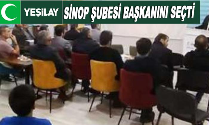 Sinop Şubesi başkanını seçti