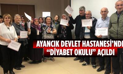"""Ayancık Devlet Hastanesi'nde """"Diyabet Okulu"""" açıldı"""