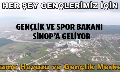 Gençlik ve Spor Bakanı Sinop'a geliyor