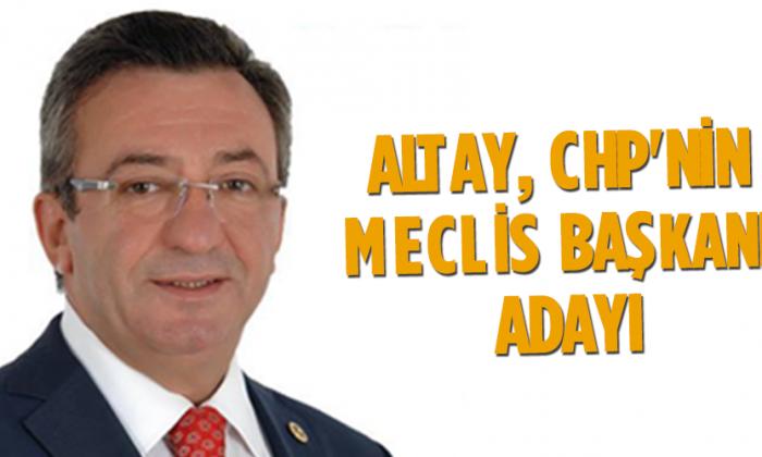 Altay, CHP'nin Meclis başkanı adayı