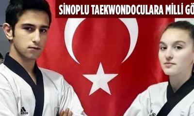 Sinoplu Taekwondoculara milli görev