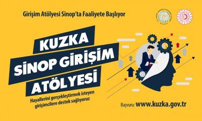 KUZKA Sinop Girişim Atölyesi Açılıyor