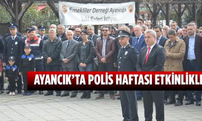AYANCIK'TA POLİS HAFTASI ETKİNLİKLERİ