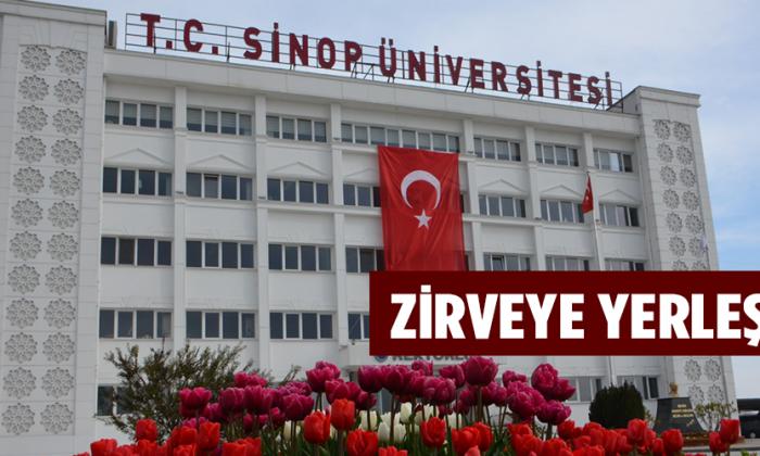 Sinop Üniversitesi Zirveye Yerleşti