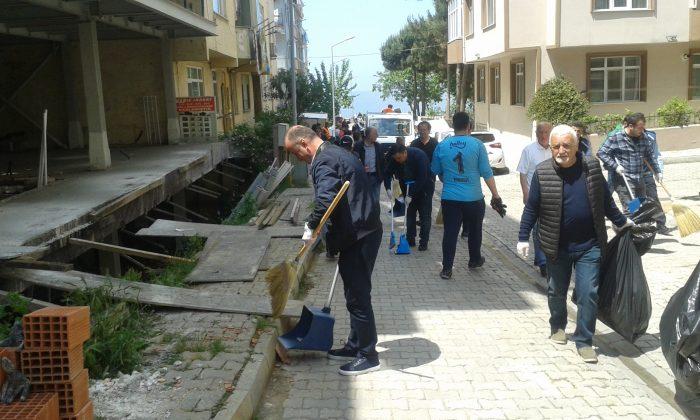 Sinop'ta Temizlik Kampanyası