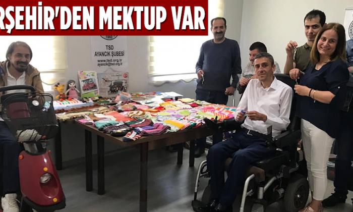 Ayancık Zeki Özünlü engelliler Yaşam Merkezi'ne Kırşehir'den mektup var
