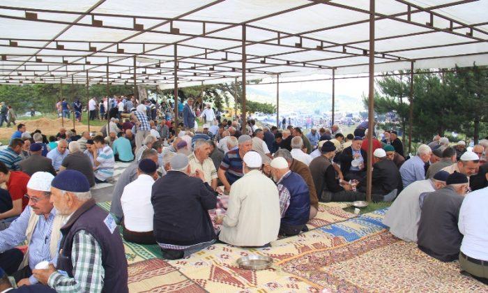 Boyabat'ta Yağmur Duası Yapıldı