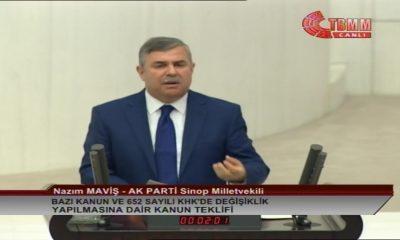 MAVİŞ'İN VERDİĞİ KANUN TEKLİFİ TBMM'DE KABUL EDİLDİ